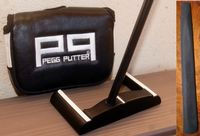 COLLECTION 2017-2018  : PEGG PUTTER 2.0 Tête Acier Forgé  - DROITIER - Grip EVP Soft Feel : 149 €
